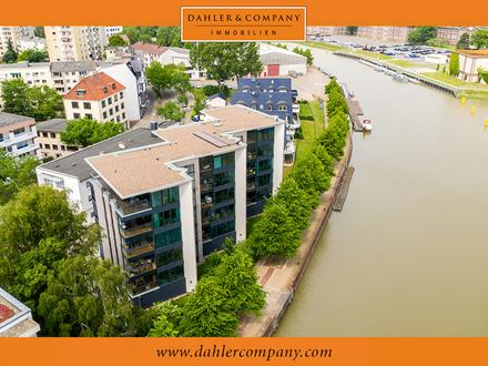 Über den Dächern von Bremerhaven
