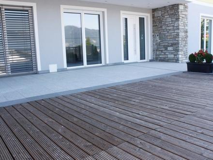 Moderne Wohnung mit Seeblick, Terrasse und Garten!
