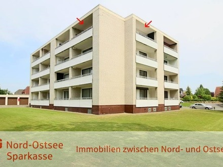 Eigentumswohnung mit zwei Balkonen, Personenaufzug, gemeinschaftlicher Dachterrasse und Garage