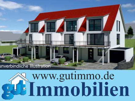 """""""Häuser die Herzen gewinnen! Moderne und großzügige Reihenhäuser in Sonnenlage von Oberboihingen."""""""