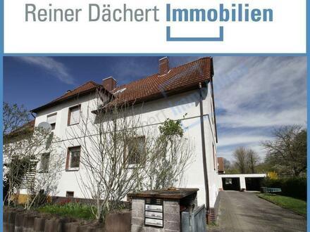 ... Dornröschen ... Zwei-Parteienhaus in City-Randlage