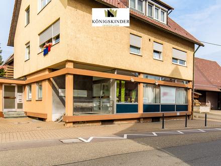 Interessante Gewerbeimmobilie im Zentrum von Neuhausen (Enzkreis)