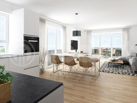 Schöne 4 Zimmer Wohnung mit viel Platz und 2 Balkonen!
