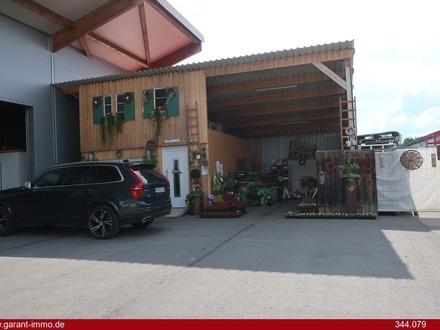 Lagerhalle mit zwei Büro- und Sanitärräumen