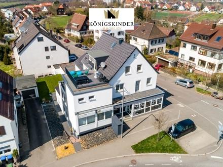 Modernisiertes Wohn- und Geschäftshaus in Zentrumsnähe von Leonberg