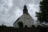 Dorfkirche Pfeffelbach: Vorfahrin der Queen begraben