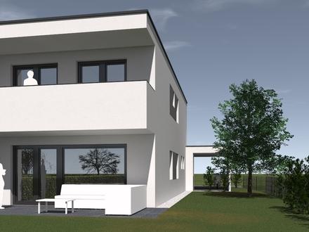 Doppelhaushälfte Top 08 in Pasching – top Architektur, hervorragende Qualität, geniales Grundstück, schlüsselfertig, provisionsfrei