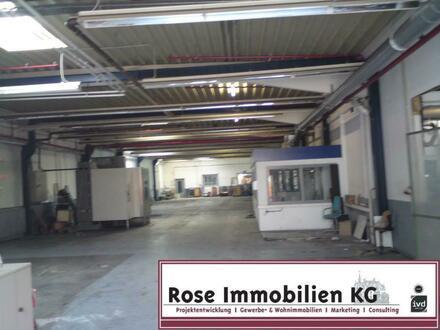 ROSE IMMOBILIEN KG: Lager-/Produktionsflächen mit Verwaltung zu vermieten!
