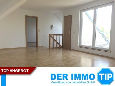 4 Zimmer Maisonettewohnung mit Dachterrasse ++ Glösa