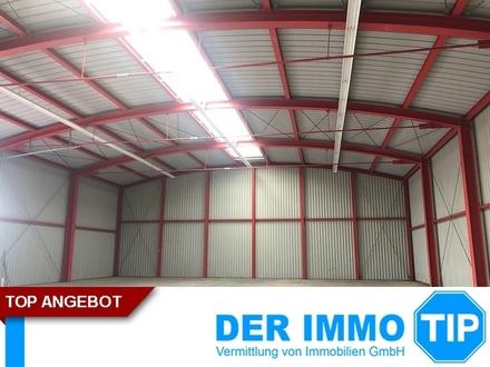 Neuer Preis ! Gewerbehalle mit Büroanteil in Klingenberg zum KAUF