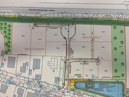 Gewerbegrundstück im Neubaugebiet B-Plan 52, Mischgebiet