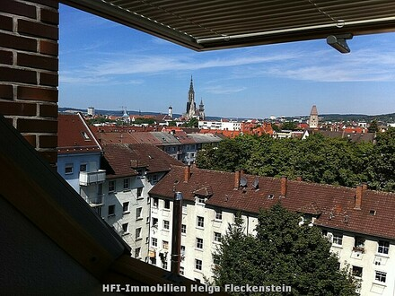 Stilvoll ausgebauter Dachstuhl, in renoviertem Altbau, in Neu-Ulm