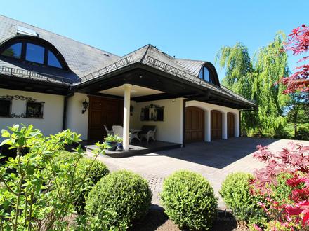 FREIRAUM4 +++ Luxuriöse Unternehmervilla in traumhafter Alleinlage von Wilnsdorf!