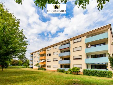 Großzügige, moderne 3-Zimmer-Wohnung mit Balkon und Tiefgaragen-Stellplatz