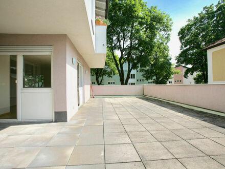 Klagenfurt West nähe Lendkanal - Linsengasse: 3-ZI-Wohnung im 1.OG mit XXL-Terrasse & inkl. 2 Tiefgaragenplätze