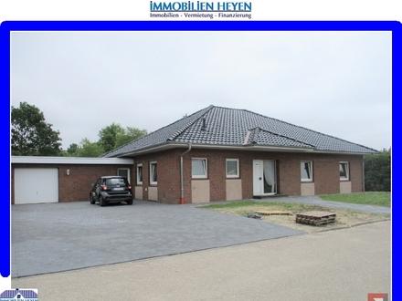 ***Grosszügiger und renovierter Walmdachbungalow mit Garage in ruhiger Siedlungslage in Ostfriesland***