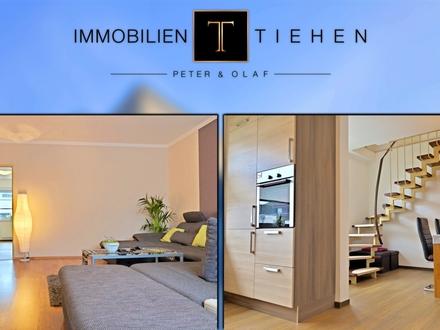 Eigentumswohnung: Meppen-Esterfeld! 130 qm Wfl.! 2 Etagen! 4 Schlafzimmer! 2 Bäder! Einbauküche uvm.