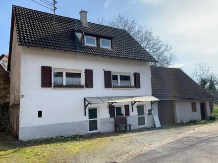 """""""Gemütliches Einfamilienhaus mit großem Grundstück im Luftkurort Aglasterhausen-Michelbach"""""""