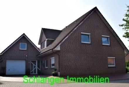 Objekt Nr.: 00/627 Schöne Oberwohnung mit Stellplatz und großer Dachterrasse in Saterland/OT Scharrel
