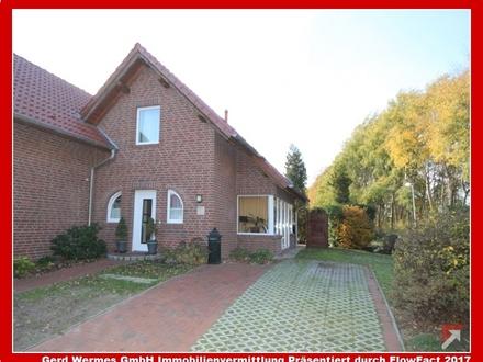 Vollmöblierte Doppelhaushälfte mit kleinem Garten in Gut Düneburg zu vermieten!