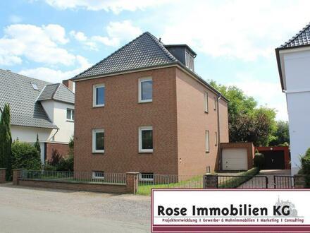 Zweifamilienhaus mit großem Garten in zentraler Lage von Minden - Königstor!