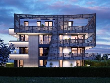 Luxuriöse 2-Zimmer Wohnung mit großem Balkon »VERVE by Libeskind«