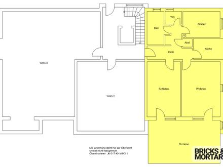 Wohnen im Alter! Sanierte 3-Zimmer-Wohnung gegenüber Tagespflege! 92m²!
