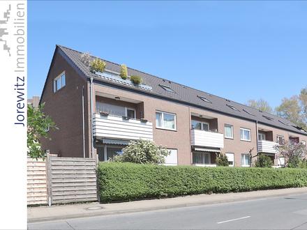 Bielefeld-Mitte: Gemütliche 3 Zimmer-Wohnung mit Balkon am Grüngürtel der Lutter