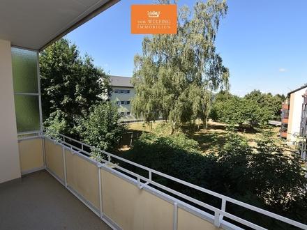 Modernisierte, sonnige 2-Zimmer-Eigentumswohnung mit Balkon in ruhiger Lage...