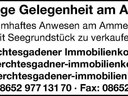 Traumhaftes Anwesen am Ammersee