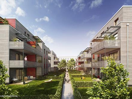 Ideal für Familien! Nachhaltige 4-Zimmerwohnung in KfW-40 Holzhybridbauweise