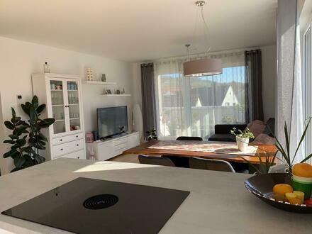 Lichtdurchflutete 2-Zi. Penthouse-Wohnung (Neubau) mit großer Dachterasse in Heilbronn