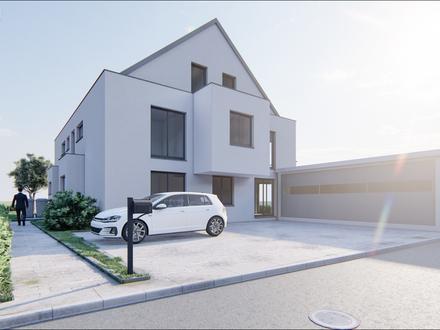WOHNEN AM MAIN Neubau 3-Zimmer im Obergeschoss mit Balkon
