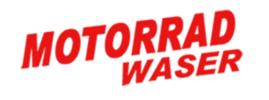 Motorrad-Waser