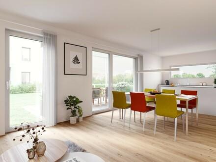 A1 - Helle 4-Zimmer-Wohnung mit Garten