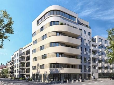 Moderne 3-Zimmer-Wohnung mit kompaktem Grundriss und Süd-Balkon