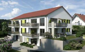 Neue 2-Zimmer-Wohnung in Bühlerzell