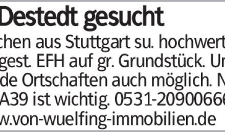 Pärchen aus Stuttgart su. hochwertig ausgest. EFH auf gr. Grundstück. Umliegende...
