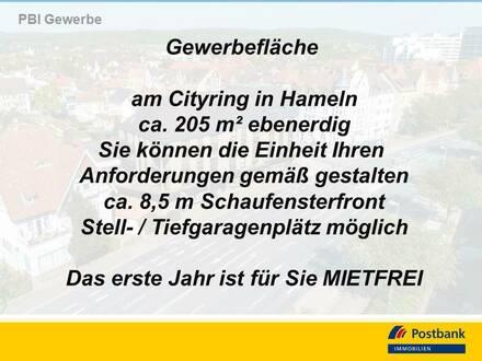 Großzügige Gewerberäume zentrumsnahe in Hamelns Innenstadt - keine KM im 1. Jahr