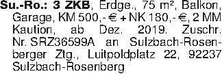 Su.-Ro.: 3 ZKB, Erdge., 75 m²,...