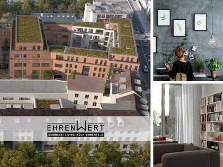 Hallo Welt – wir sind Ehrenfeld. Neue 2-Zimmer-Eigentumswohnung in Ehrenfeld.
