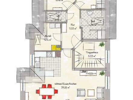 Neubau-Dachgeschosswohnung