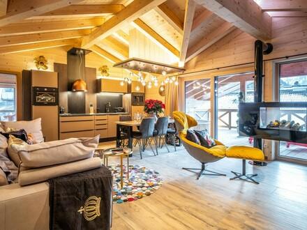 Alpen Penthouse mit Kitzsteinhorn Blick