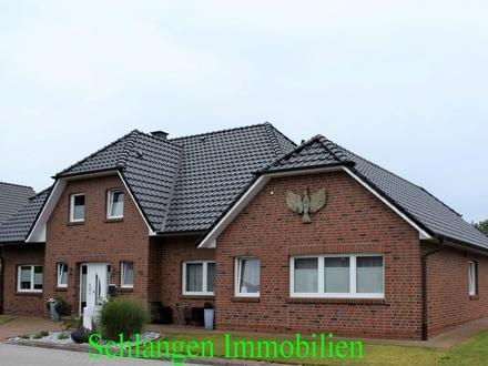 Objekt Nr.: 19/826 Exklusives Einfamilienhaus mit Einliegerwhg., Garage und Carport in Saterland/OT Scharrel