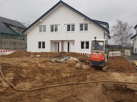 Bauen im Neubaugebiet Schlangen - Eine der letzten DHH sichern.