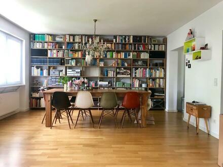 Moderne Maisonette-Wohnung mit Garten nahe Kurpark