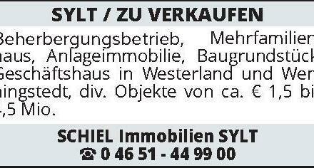 SYLT / ZU VERKAUFEN Beher