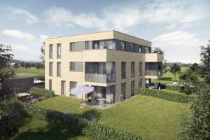 Im begehrten Wohngebiet Ellental entsteht ein modernes Mehrfamilienhaus...