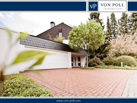 Bielefeld-Hoberge: Exklusive Villa mit hochwertiger Ausstattung, Sauna & Pool im Grünen!