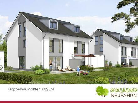 Freiraum für Ihre Familie, wohnen in hochwertiger Doppelhaushälfte!